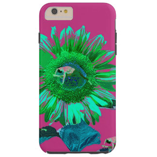YOGA SUNFLOWER YOGA STRETCH POSTURE TOUGH iPhone 6 PLUS CASE