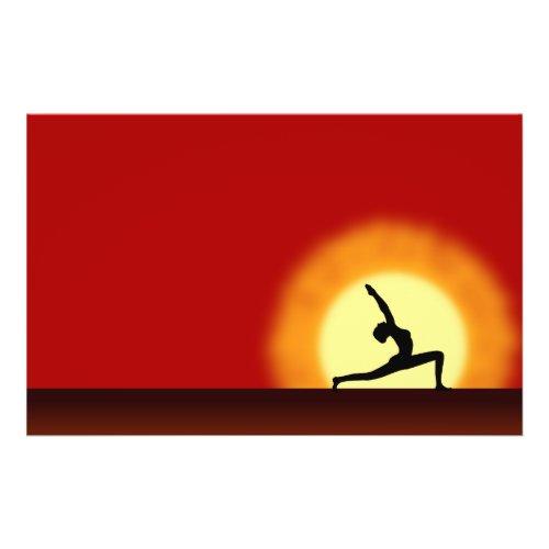 Yoga Sunrise Flyer flyer
