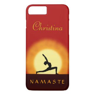 Yoga Sunrise Pose Namaste Slim iPhone 7 Plus iPhone 8 Plus/7 Plus Case