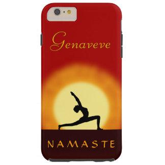 Yoga Sunrise Pose Namaste Tough iPhone 6 6S Plus Tough iPhone 6 Plus Case