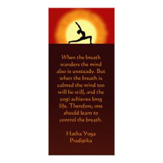 Yoga Sunrise Yoga Instructor Teacher Rack Cards