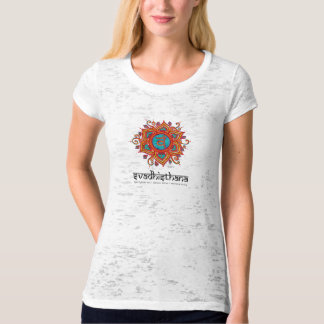 Yoga Svadisthana, 2nd Chakra Burnout T T-Shirt