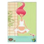 Yoga Tarjeta De Felicitación