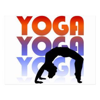 yoga postales
