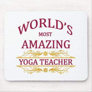 Yoga Teacher Mouse Pad