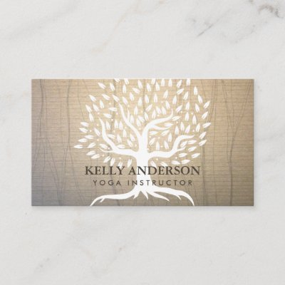 Yoga instructor vintage gold lotus flower business card zazzle reheart Images