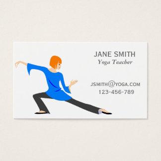 Yoga Teacher Yoga Instructor stylish Business Card