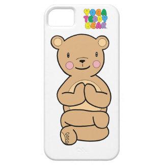 Yoga Teddy Bear Namaste Phone Case iPhone 5 Cases