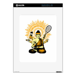 yoga tennis decal for the iPad