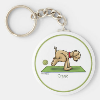 Yoga - The Crane Pose Key Chain