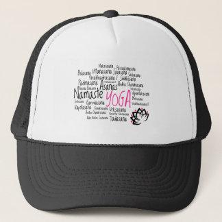 Yoga Theme Trucker Hat
