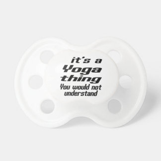 Yoga Thing Designs BooginHead Pacifier
