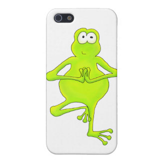 Yoga Tree Frog Case For iPhone SE/5/5s
