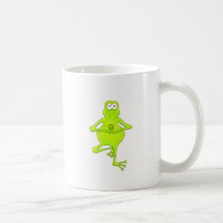Yoga Tree Frog Coffee Mug
