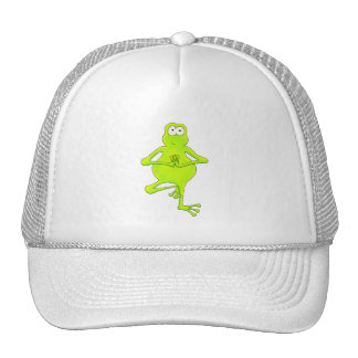Yoga Tree Frog Trucker Hat