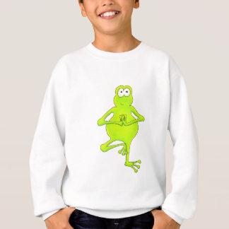 Yoga Tree Frog Sweatshirt