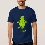 Yoga Tree Frog T Shirt