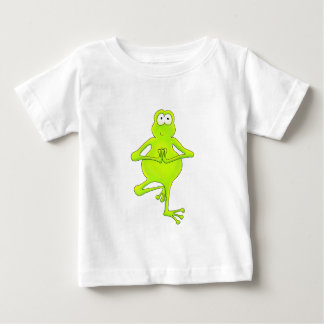 Yoga Tree Frog Tee Shirts