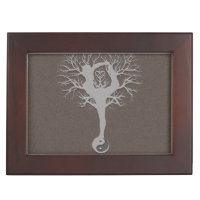 Yoga Tree Keepsake Box