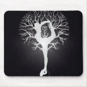 Yoga Tree Mouse Pad (<em>$11.60</em>)