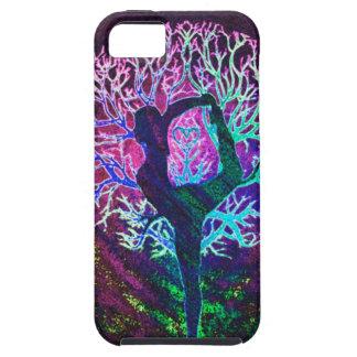 Yoga Tree Peace Rainbow iPhone SE/5/5s Case