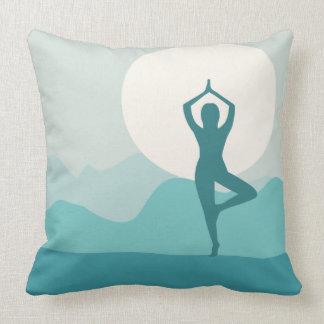 Yoga Tree Pose Pillow