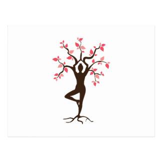 Yoga Tree Postcard