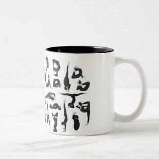 Yoga Two-Tone Coffee Mug