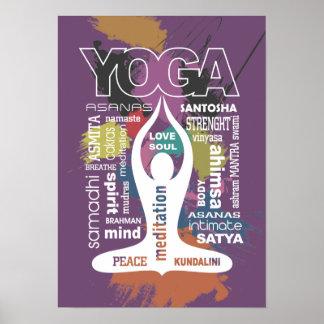 Yoga Typography Print
