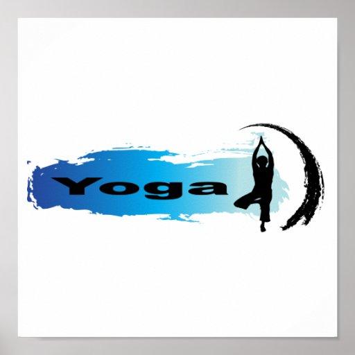 Yoga única póster