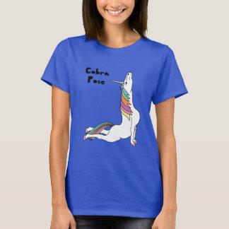 Yoga Unicorn Cobra Pose T-Shirt