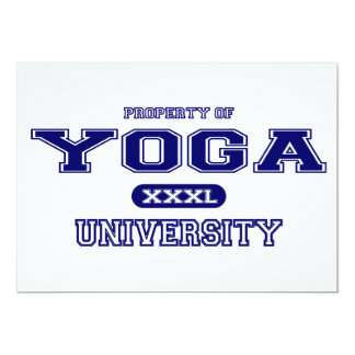 Yoga University Card