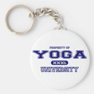 Yoga University Keychain