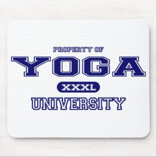Yoga University Mouse Pad