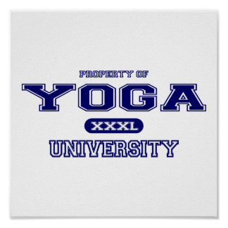 Yoga University Poster