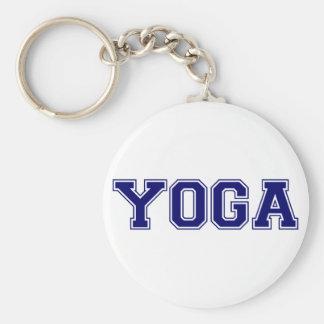 Yoga University Style Keychain