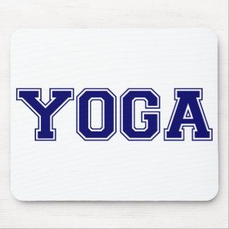 Yoga University Style Mouse Pad