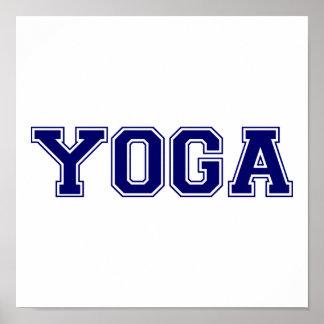 Yoga University Style Poster