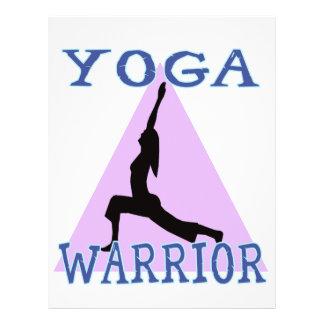 "Yoga Warrior 8.5"" X 11"" Flyer"