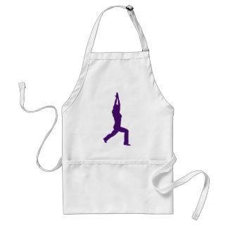 Yoga Warrior Pose Giftware Adult Apron