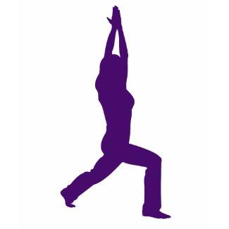 Yoga Warrior Pose Shirt