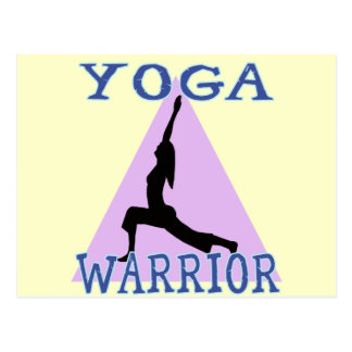 Yoga Warrior Postcard