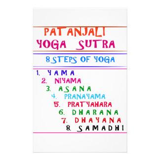 Yoga Wisdom Words Stationery