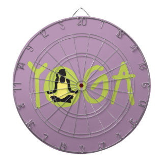 yoga woman dart boards