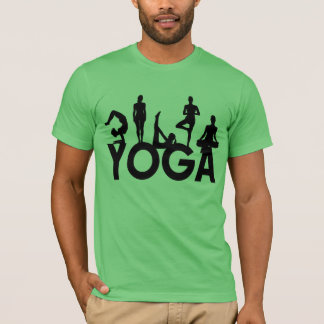 Yoga Women Silhouettes T-Shirt