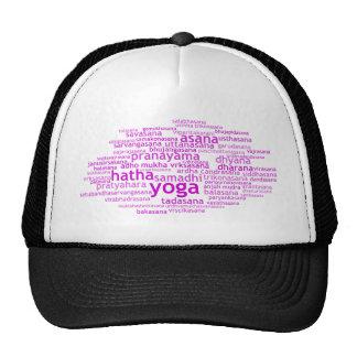 Yoga Wordle Trucker Hat