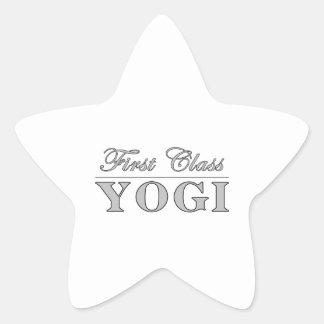 Yoga y yoguis: Yogui de la primera clase Colcomanias Forma De Estrellaes