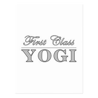 Yoga y yoguis: Yogui de la primera clase Postal
