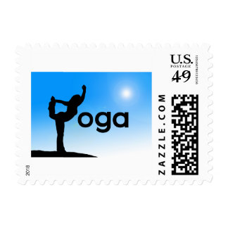 Yoga Yogi Pose Salutation Instructor Stamps