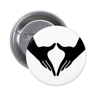Yoga Yoni Mudra 2 Inch Round Button